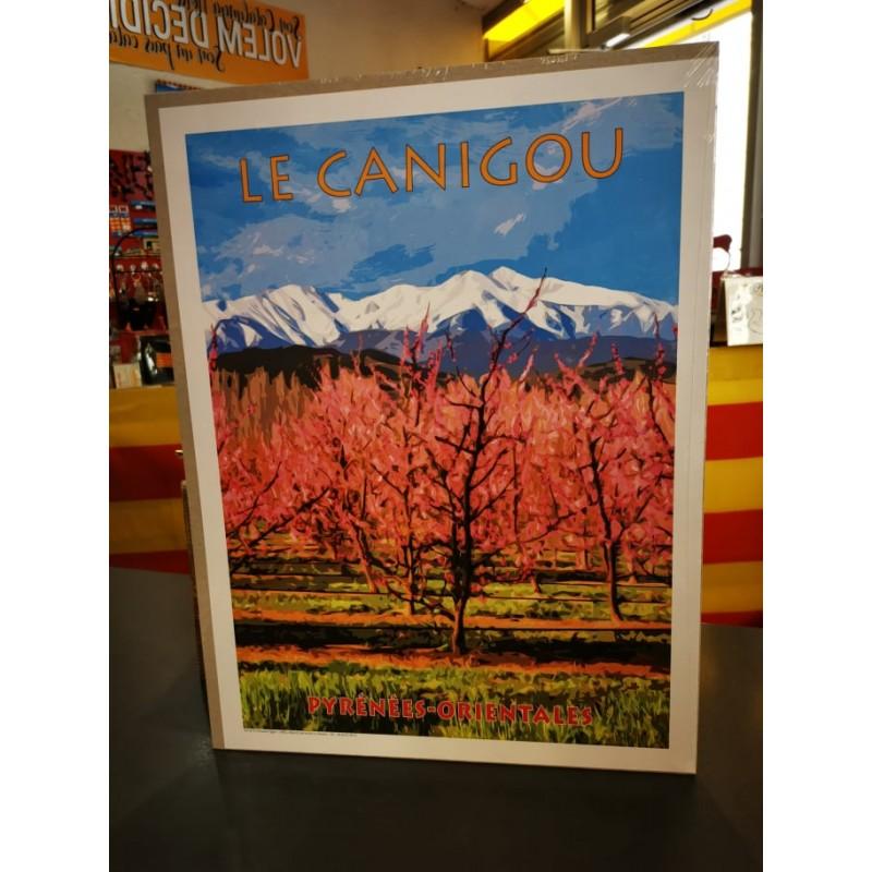 Affiche du Canigou 30x40cm