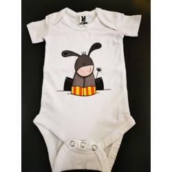 Body blanc burro català
