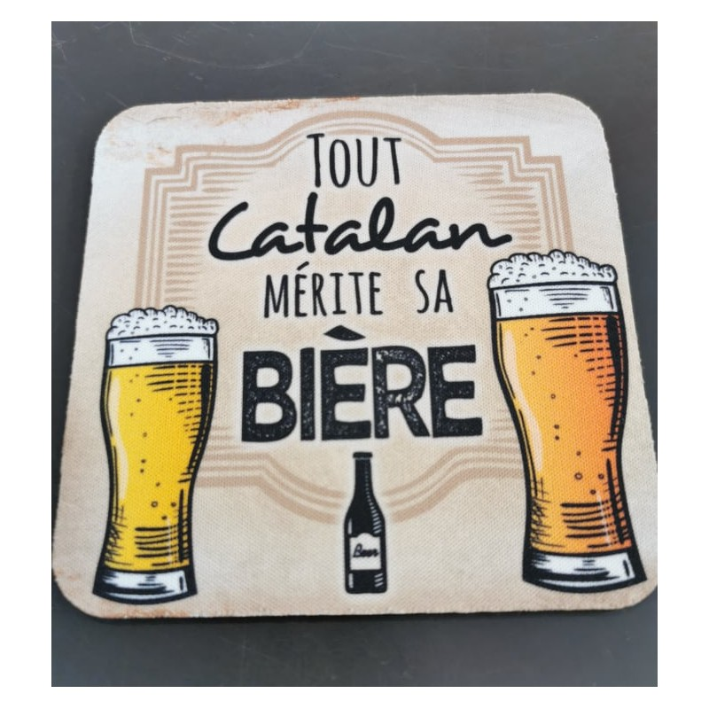 Under glass Tout catalan mérite sa bière