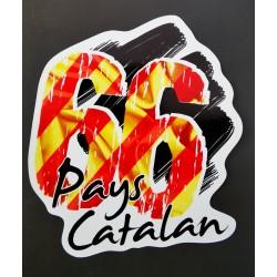 Sticker 66 PAYS CATALAN
