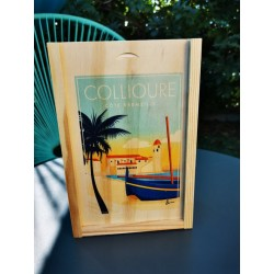 Wooden box  Collioure