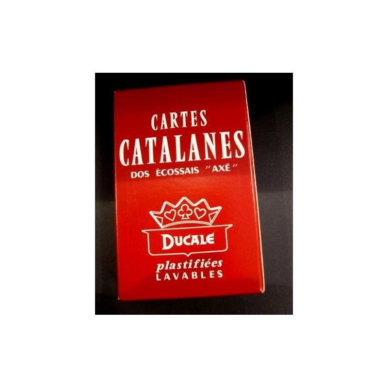 Jeu de cartes catalanes pour le truc