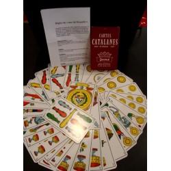 Jeux de cartes catalanes pour le truc