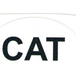 Autocollant CAT