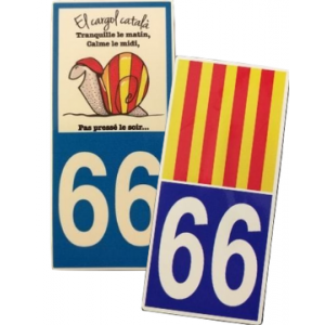 Autocollants 66