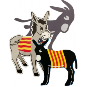 Burro emblème catalan